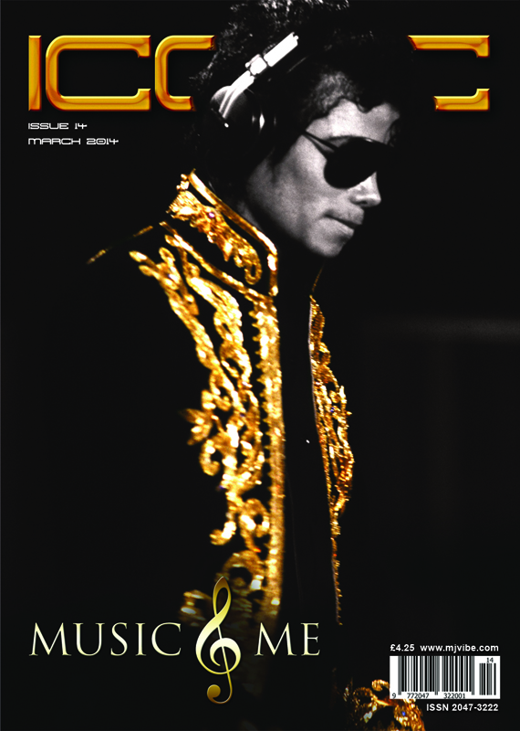 For Iconic Issue 14, we chose to feature an image that captures Michael in a moment of musical bliss and this image was the perfect choice.