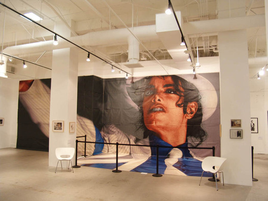 Michael jackson mural resurfaces at valley museum for Jackson 5 mural gary indiana