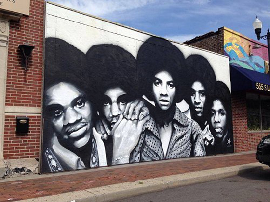 indiana arts group plans to preserve jackson 5 mural ForJackson 5 Mural Gary Indiana