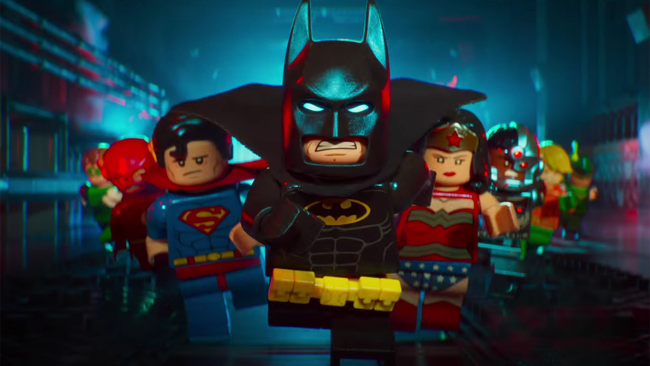 "Cover di ""Man In The Mirror"" nel film Lego Batman Lego00"