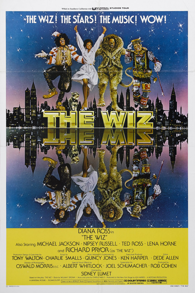 RIP Bill Gold  The-Wiz-1978-movie-poster