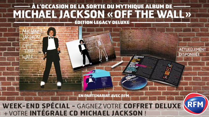Michael jackson off the wall (2001 special edition) (unboxing.