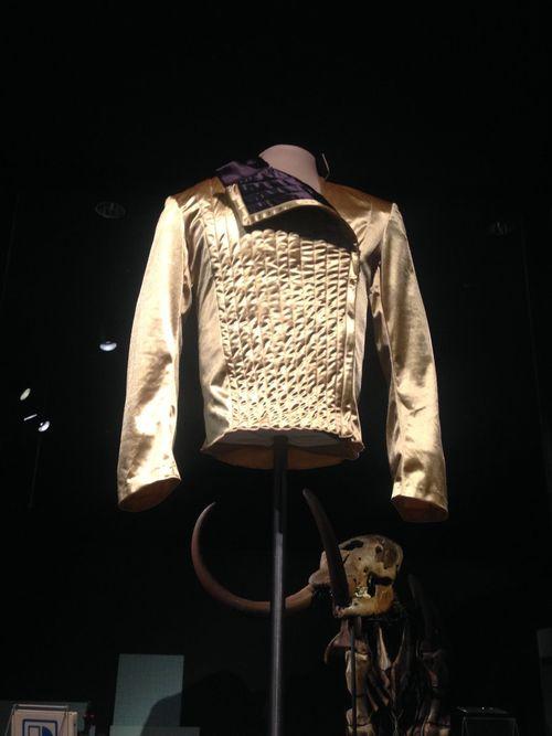 Astounding Michael Jackson Dangerous Leotard At The Indiana State Museum Machost Co Dining Chair Design Ideas Machostcouk
