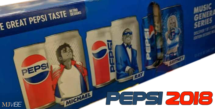 michael jackson on pepsi cans once again