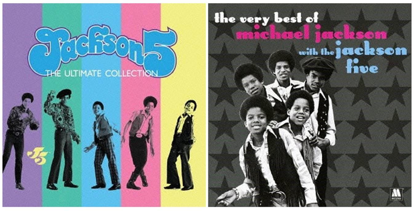 Rééditions: The Ultimate Collection & Le meilleur de Michael Jackson avec les Jackson Five J5-Japan