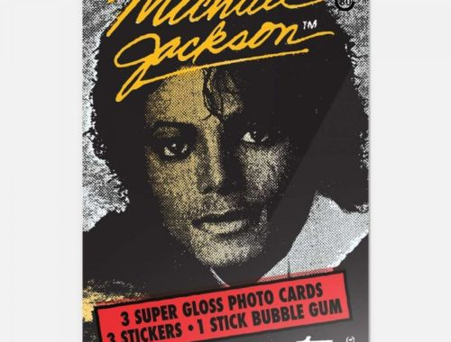Topps Re Releases Michael Jackson Card To Celebrate 80th Anniversary