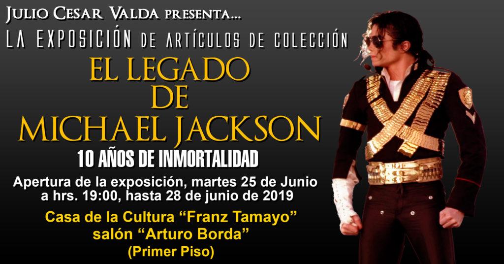 Bolivie: Exposition «L'héritage de Michael Jackson» Exhib19-01-1024x536