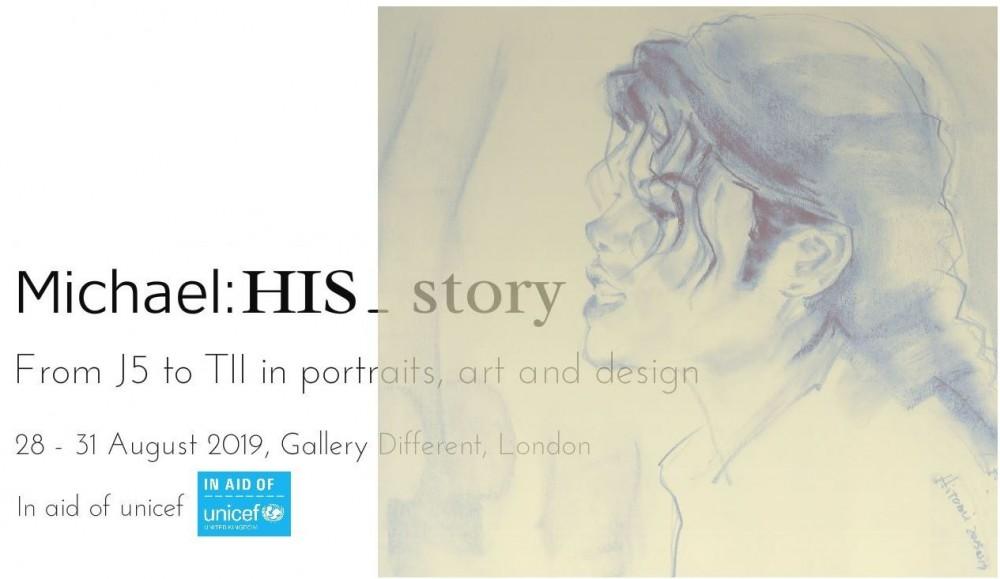 L'exposition de fans «On The Wall» est de retour à Londres Mj_exhibition_HIS_story_logo_NO_
