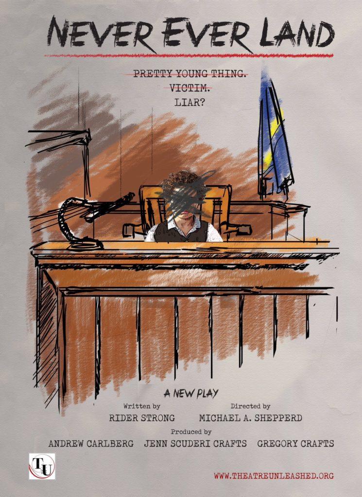 «Never Ever Land» est une pièce de théâtre sur l'allégation 93. NEL-Play-04-745x1024