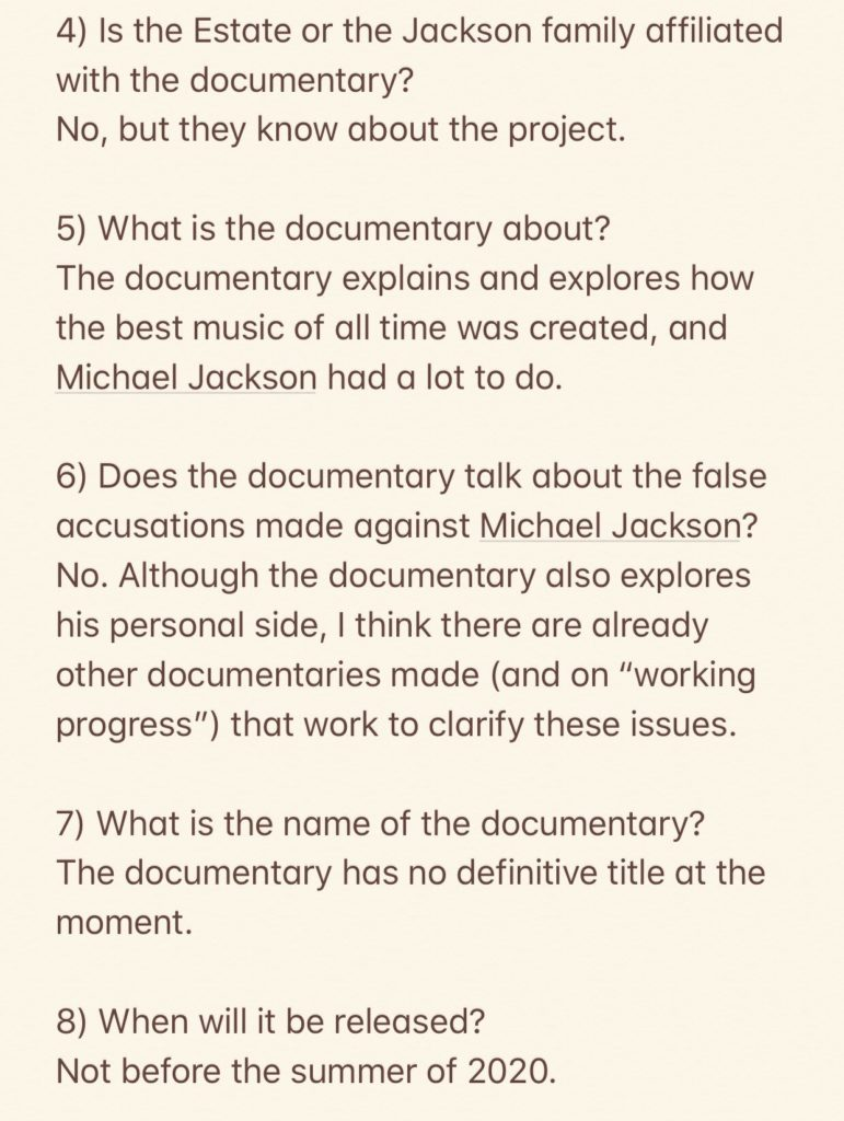 Best Documentaries Of 2020.New Michael Jackson Documentary Coming On Netflix In 2020