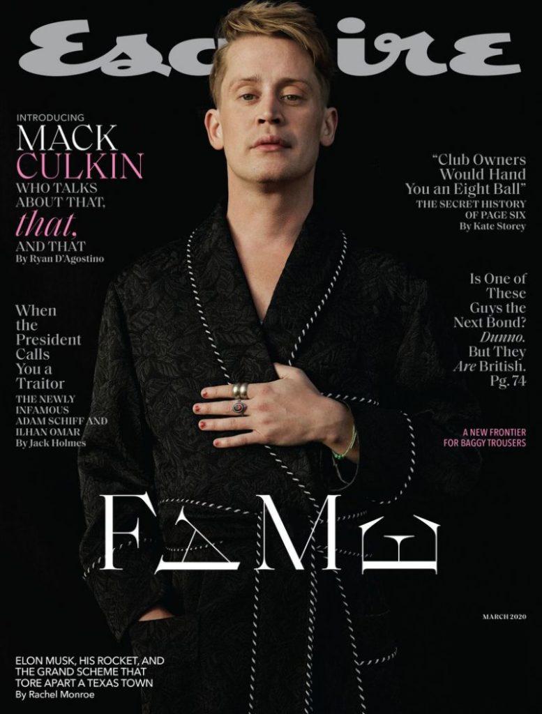 Macaulay Culkin établit le record de sa relation avec Michael Jackson Esc-777x1024