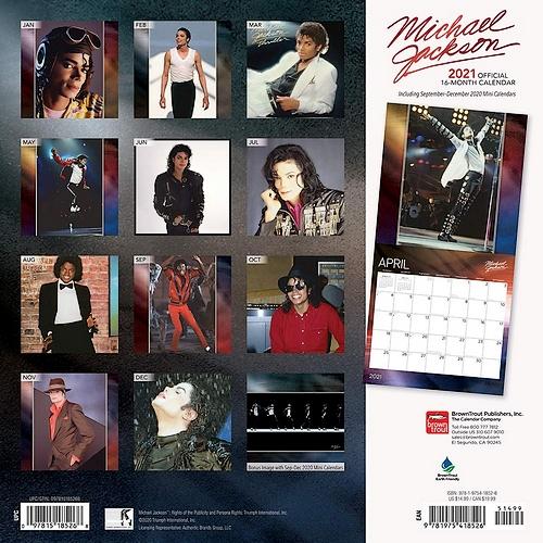 Official Michael Jackson Calendar 2021 for the Americas revealed… |