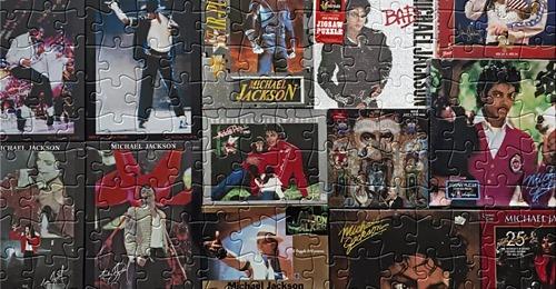 The Hector Barjot Show: Michael Jackson's Puzzles HB-Puzzles