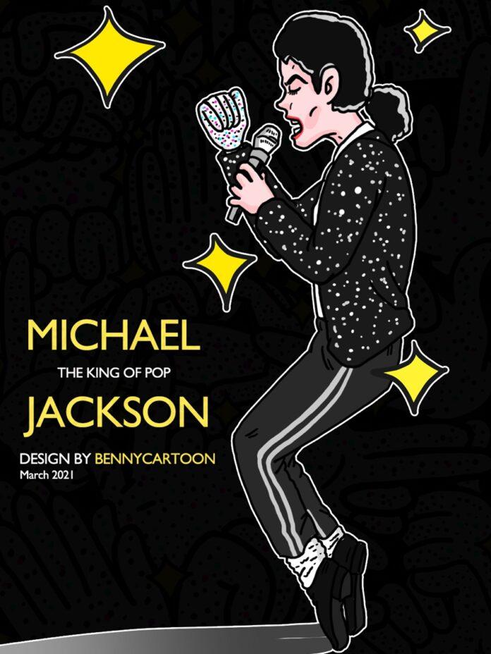 Michael Jackson Emoji for WeChat Benny00-696x928