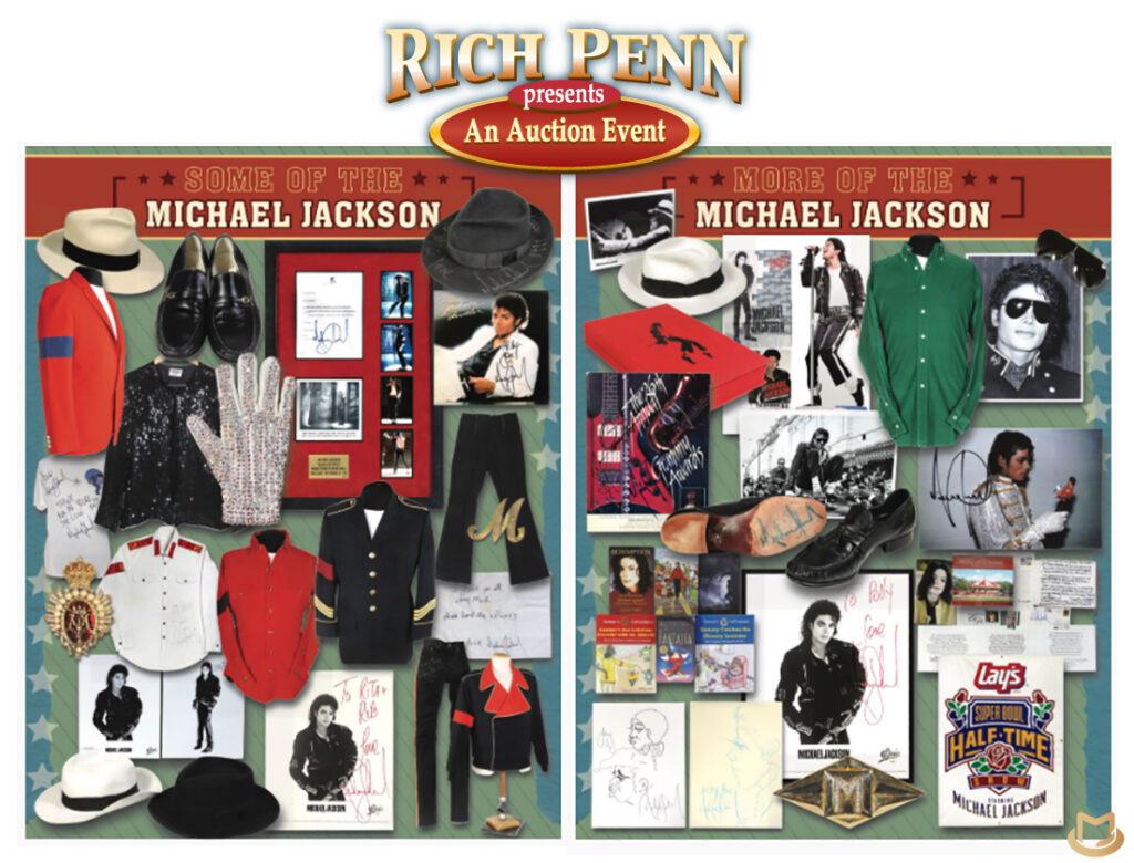 Rob Swinson met aux enchères ses articles Michael Jackson  Rob-swinson-Auction2-1024x780